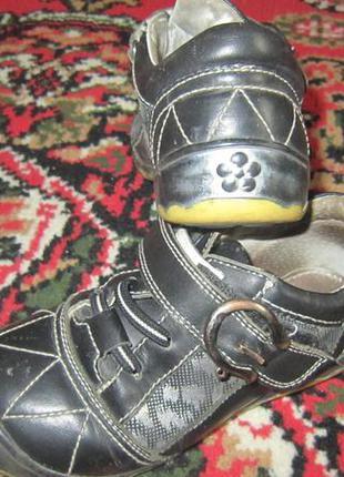 Кроссовки, туфли на липучке, размер 29, 19 см