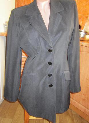 Костюм 3 в 1, пиджак-френч, юбка, брюки