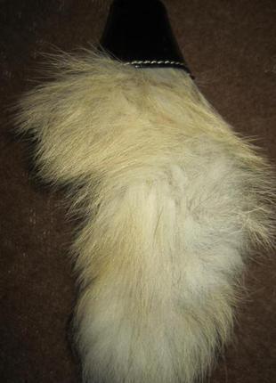 Натуральный мех, брелок, декор на сумку