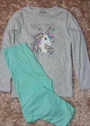Пижама для девочки 11-12 лет