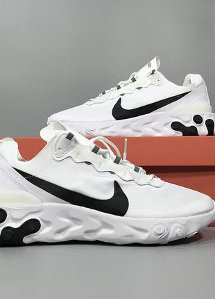 Мужские кроссовки nike react element 55 white