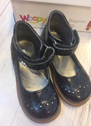 Детские ортопедические туфли босоножки woopy orthopedics.