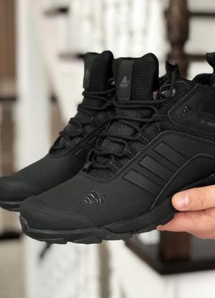 Мужские зимние ботинки кроссовки adidas climaproof.