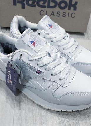 Мужские зимние ботинки кроссовки Reebok Classic.