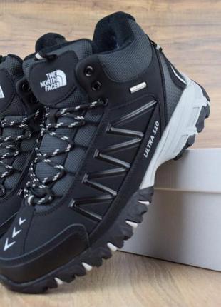 Мужские зимние ботинки кроссовки The North Face.
