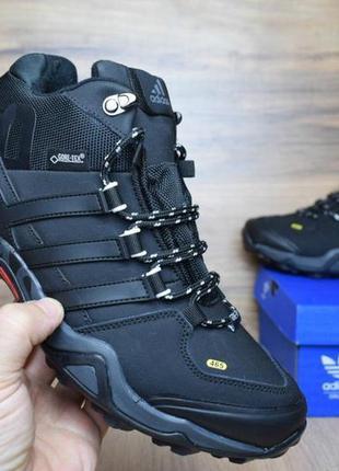 Мужские зимние ботинки кроссовки adidas terrex 465.
