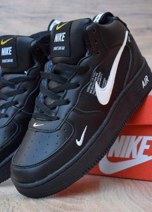 Мужские зимние ботинки кроссовки nike air force .