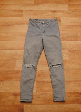 Женские джинсы topshop стрейч