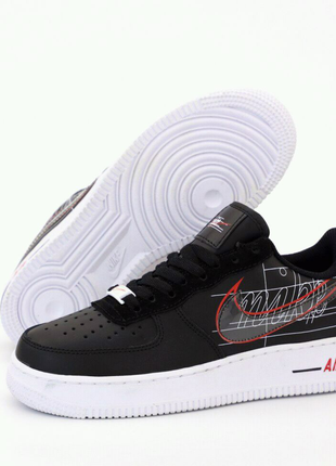 Nike Air Force 1 Low Black White ✅ 36-41