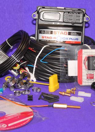 Электроника для ГБО 4 премиум класса Stag Q-Box Plus