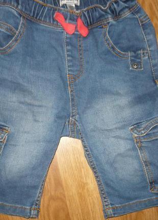 Шорты джинсовые на мальчика 122р.vertbaudet