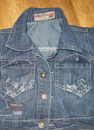 Пиджак джинсовый 92-98р.на мальчика