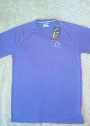Фирменная мужская спортивная футболка under armour heatgear ор...