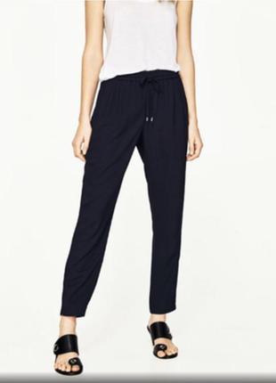 Легкие женские брюки zara