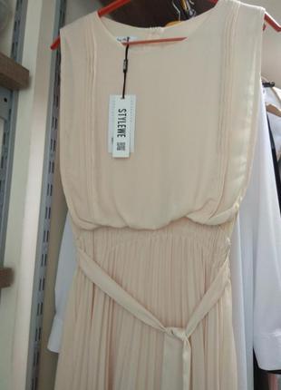 Очень красивое шифоновое платье
