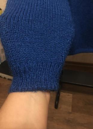 Очень красивый свитер василькового цвета летняя скидка!
