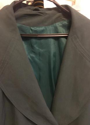 Плащ - пальто на подкладке