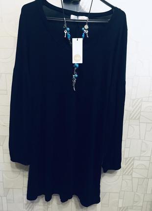 Платье с интересным рукавом units woman