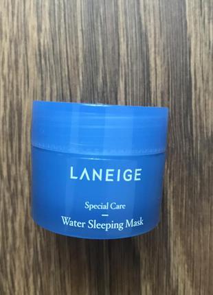 Пробник ночной увлажняющей маски для лица laneige water sleepi...