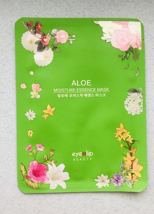 Увлажняющая тканевая маска с алоэ eyenlip aloe moisture essenc...