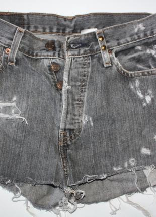 Шорты с высокой посадкой джинс с заклепками levi strauss & co ...