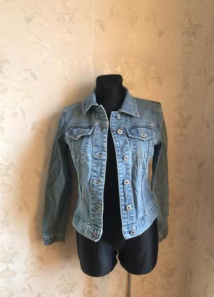 Джинсовая куртка оригинал р.xs
