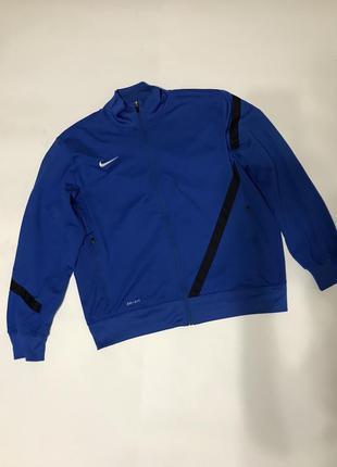 Спортивная кофта nike dry fit p.xl