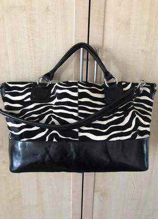 Добротная кожаная сумка ri2k