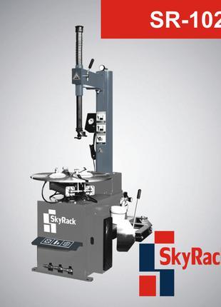 Шиномонтаж SR-102. Стенд шиномонтажный полуавтомат SkyRack 102