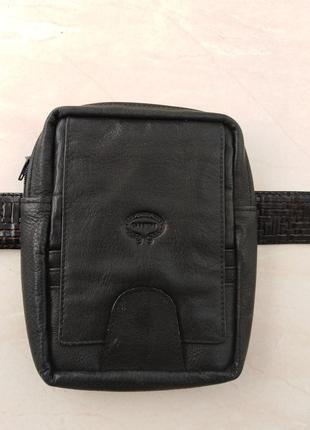 Кожаный   кошелек   на   ремень   от итальянской   марки giudi.
