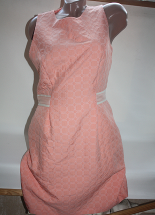 Платье персиковое розовое limited edition 14р (к029)