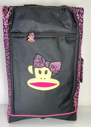 Дорожная сумка - чемодан от бренда paul frank