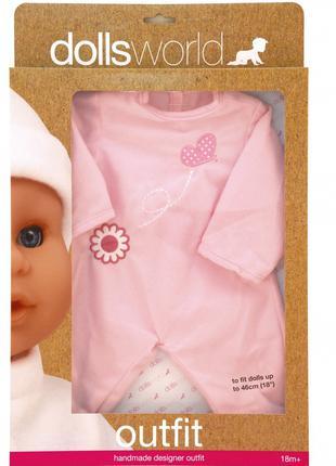 Одежда для пупса dolls world, 41см (8502)