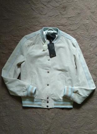 Идеальная куртка бомбер голландского бренда goosecraft. замша ...