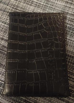 Обложка на паспорт под кожу