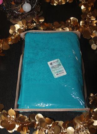 Полотенце в упаковке махровое банное 500 плотность