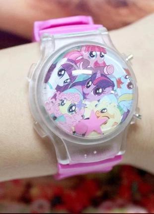 Детские часы, часики мой маленький пони my little pony