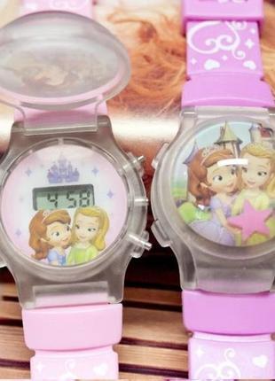 Детские часы, часики принцесса софия