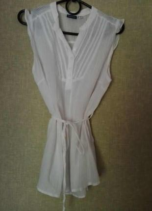 Белая блузка под пояс от esmara