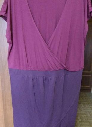 Интересное платье большого размера 54-56