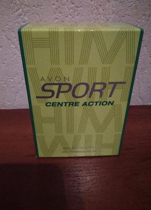 Туалетна вода avon sport centre action (50 мл)