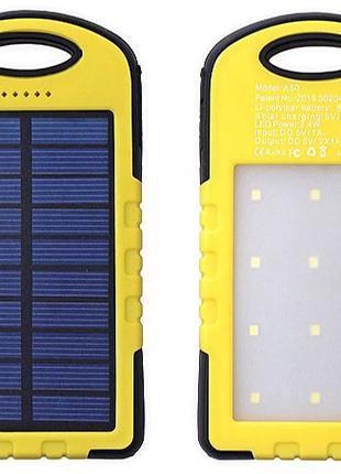 Водонепроницаемый Power Bank 10800 мА Солнечная батарея и Ламп...