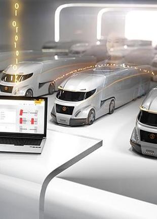 Система TPMS для грузовиков. Контроль давления и температуры шина