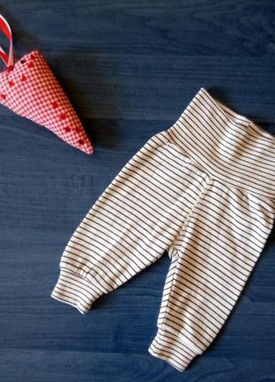 H&m 🤩  хлопковые штанишки размер 1 мес
