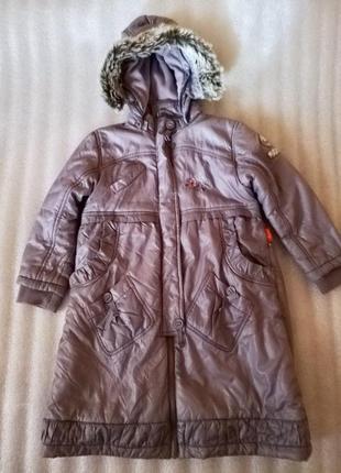 🎀  пальто куртка на синтепоне и флисовой подкладке