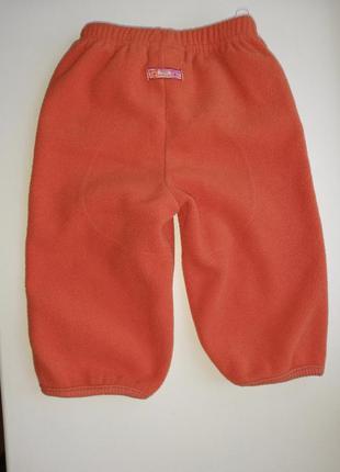 🤩👍 тёплые флисовые штаны с начёсом 6 месяцев