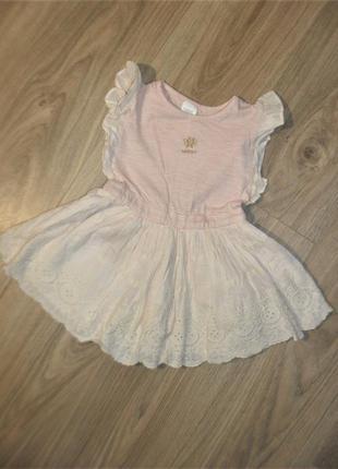 Платье некст на 9-12мес