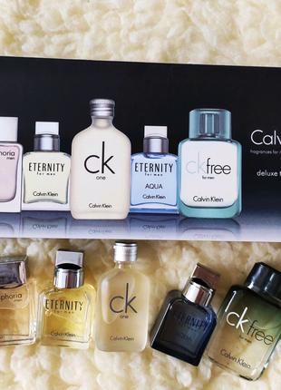 Подарочный набор мужской Calvin Klein (5 по 10 ml)