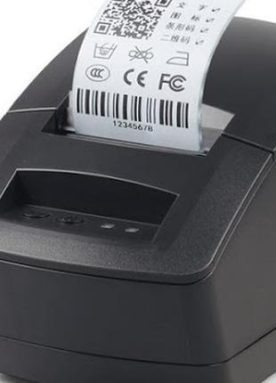 USB Принтер этикеток и чеков 2в1 термопринтер Gprinter GP2120TU