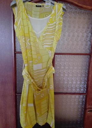 Яркое платье miss sixty